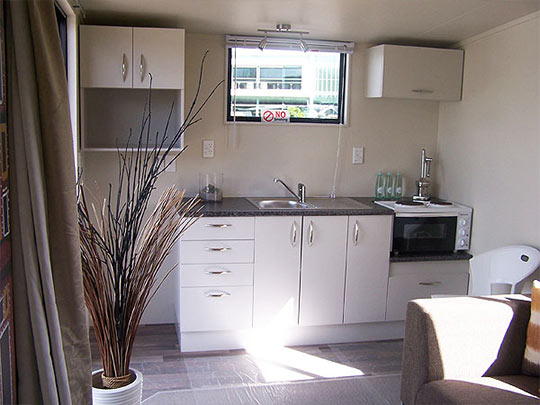 Portable Cabin Interior Options From Portable Kiwi Cabins By Cabins To Go Whangaparaoa